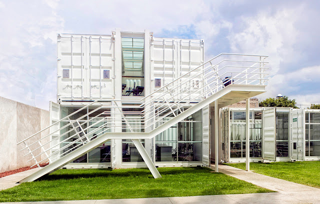 La Secundaria Valladolid - Modular Shipping Container School, Mexico 1