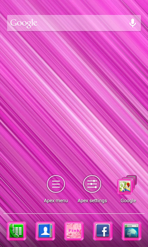 By Photo Congress || Apex Launcher Pink Theme