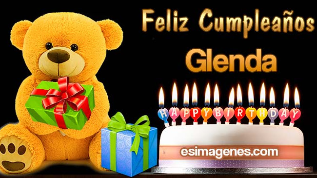 Feliz Cumpleaños Glenda