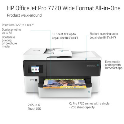 HP OfficeJet Pro 7720 Drivers Download