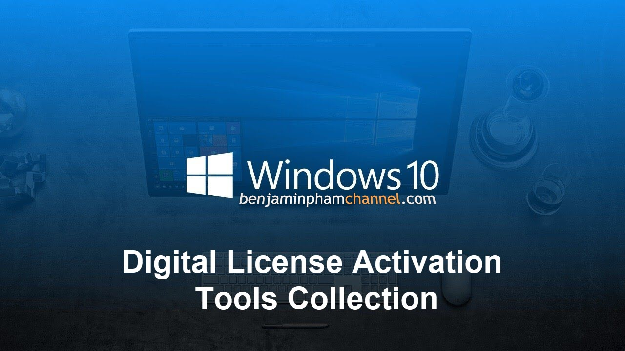 Windows 10 Digital License Activation Tools Collection