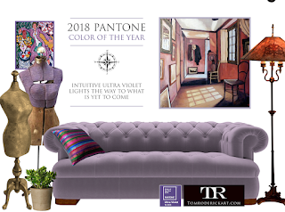 Pantone Color of the Year 2018 promo tom roderick art