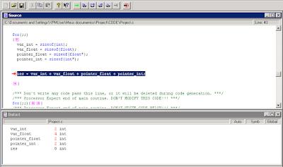 CodeWarrior HCS08