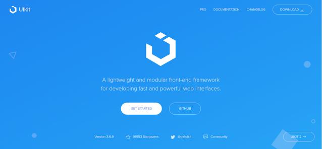 UIKIT - Framework CSS Terbaik di Tahun 2021