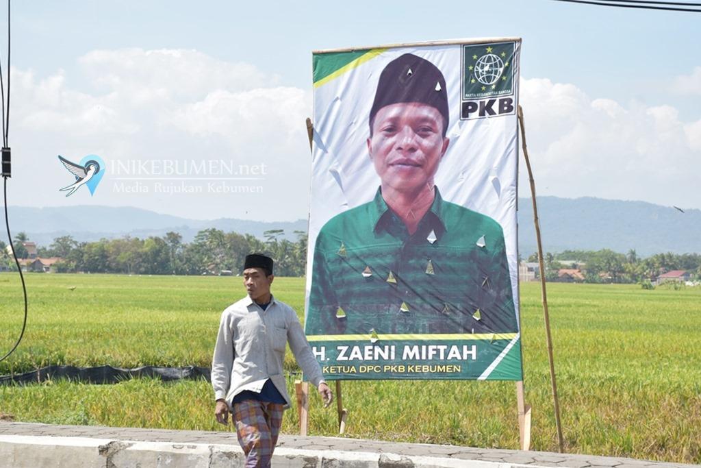 Jelang Gelaran Pilbup Kebumen, Zaeni Miftah Muncul sebagai Rising Star