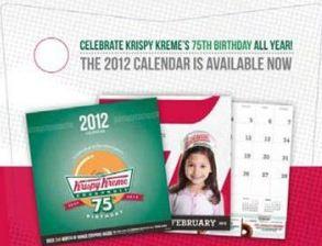 Krispy Kreme Calendar.My Springfield Mommy Krispy Kreme Coupon Calendar 90 Value Just 5
