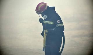 Συγκλονιζουν τα λογια πυροσβεστη απο το Καπανδριτι: Ο Θεος μας ξεχασε...