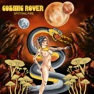 COSMIC ROVER new album SPITTING FIRE