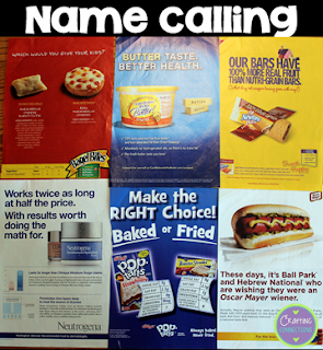 Name calling examples in advertising