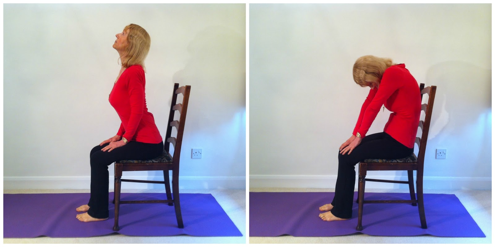 Seated Chair Yoga Poses For Seniors Wooden Chairs With Arms Flexiladies Upper Back Pain