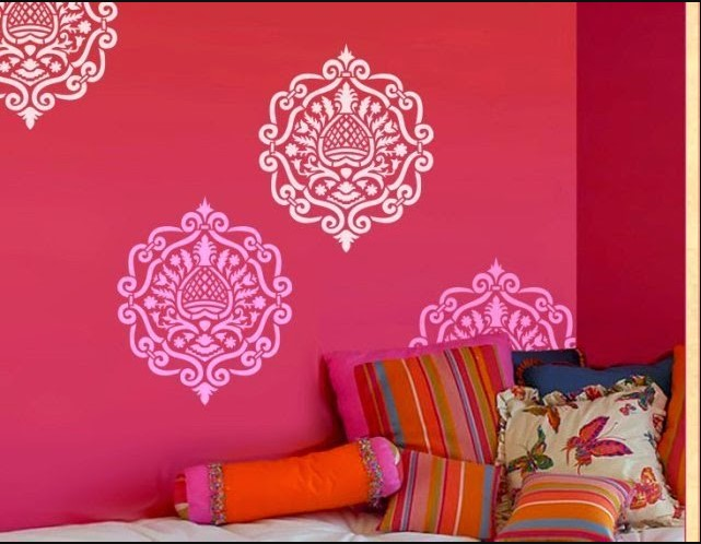custom wall stencils for painting