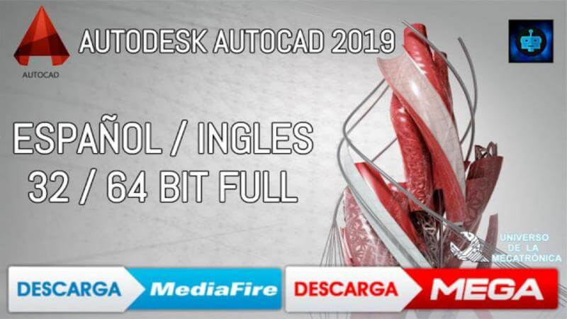 Descargar autocad 2019 Mega mediafire