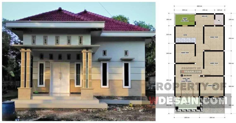 Desain Rumah 6x12 4 Kamar Tidur 1 Lantai Desain Rumah Minimalis