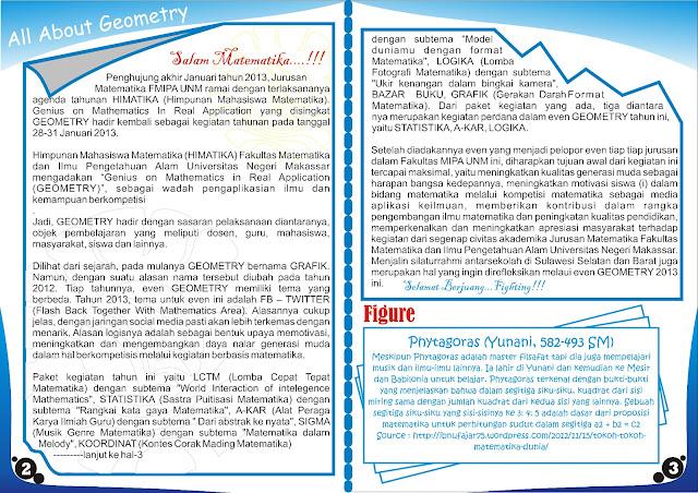 Buletin INFINITE Edisi Pertama Periode 2012-2013