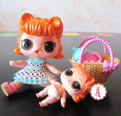 LOL Doll Jitterbug and her sister LIL Jitterbug