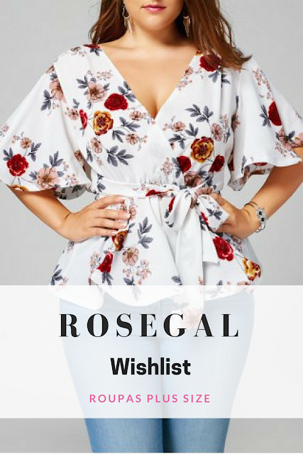Wishlist da loja Rosegal - Plus Size Clothes
