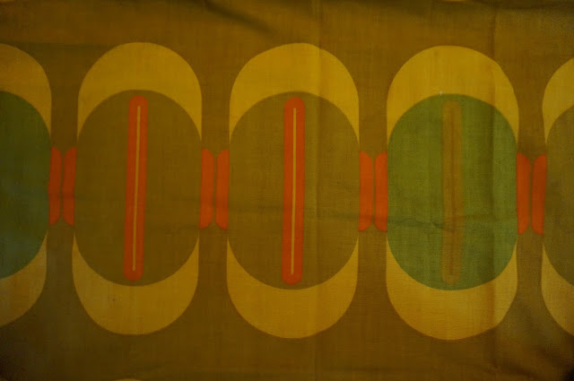 60s 70s curtains fabric scandinavian panton vintage 1960s 1970s