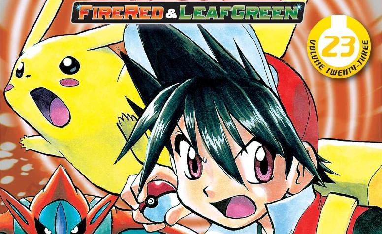 Mangá Pokémon FireRed e LeafGreen