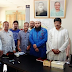 New (U, N, O) exchange meeting with the leaders of the Press Club of Shailkupa Upazila of Jhenaidah district.