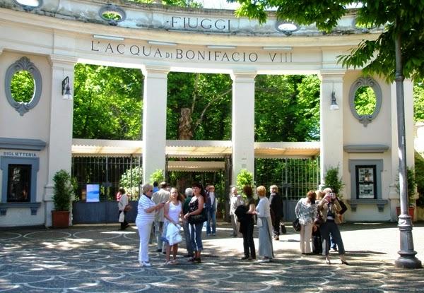Термальный парк Бонифация VIII. Курорт Фьюджи, Италия