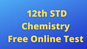 12th Chemistry Free Online Test Unit 1 Metallurgy