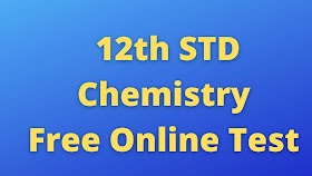 12th Chemistry Free Online Test Unit 7 Chemical Kinetics