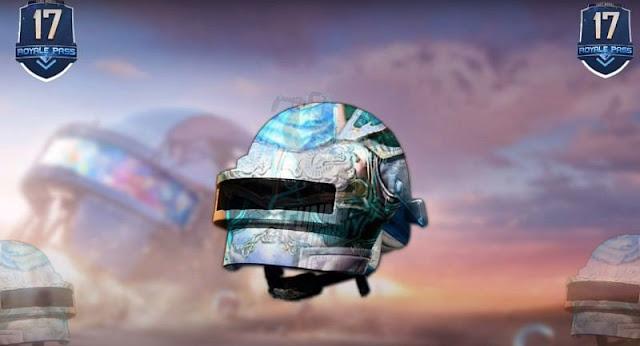 Turquoise helmet skin