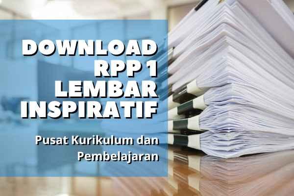 RPP 1 Lembar Inspiratif