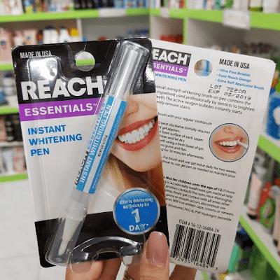 Bút tẩy trắng răng Reach Instant Whitening Pen