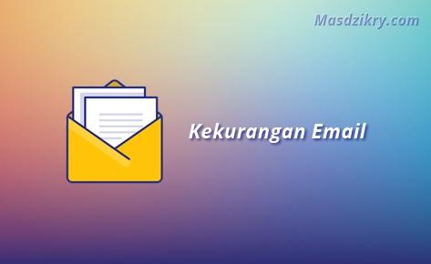 Kekurangan email