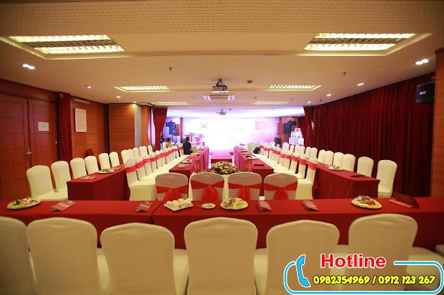 cho thuê hội trường tổ chức lễ ra mắt sản phẩm mới tại Hà Nội