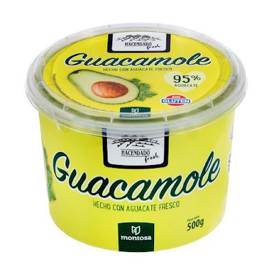 Guacamole fresco Hacendado Fresh