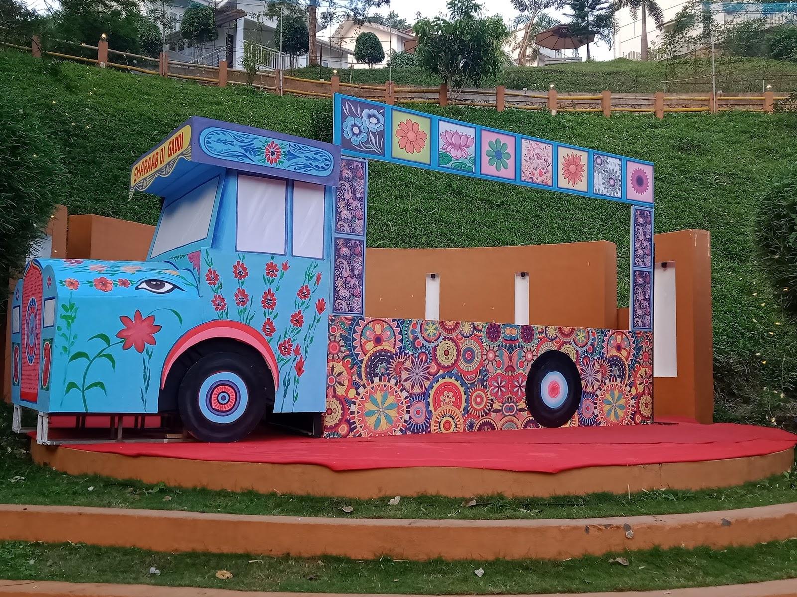 Sharab Di Gaddi Punjabi Truck Wedding India