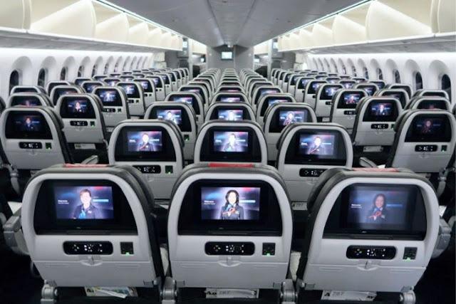 Boeing 787-8 Dreamliner Seats