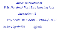 Assistant Nursing Superintendent jobs in AIIMS Rishikesh