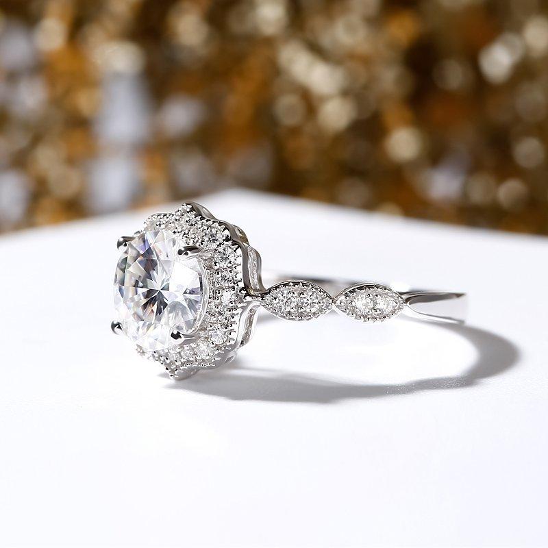 purple engagement rings