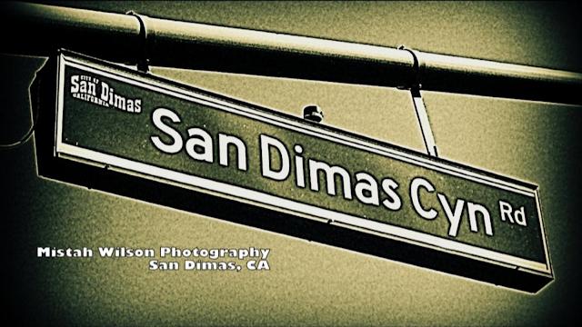 San Dimas Canyon Road, San Dimas, California by Mistah Wilson