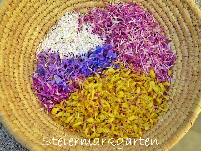 Blüten-Ernte-Steiermarkgarten