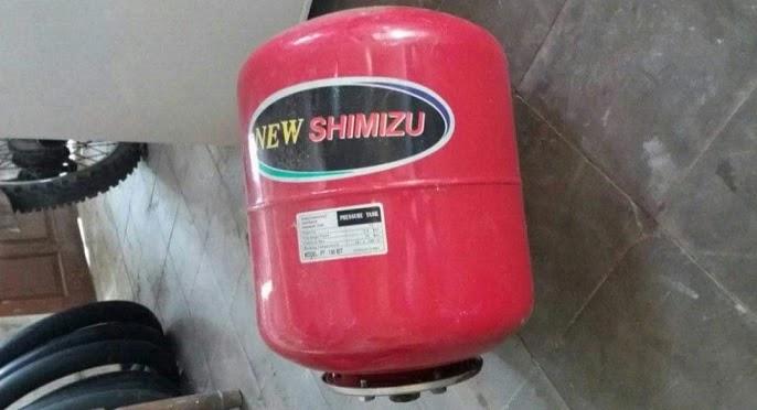 Tabung Pompa Air Shimizu Bocor