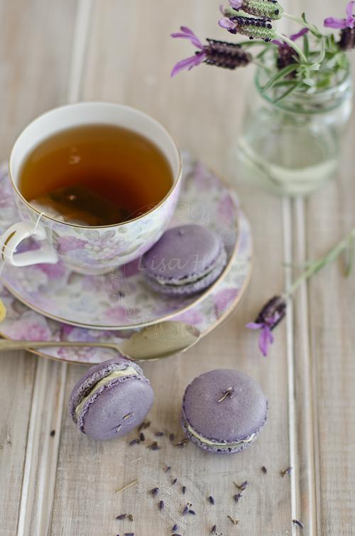 lavender macarons recipe