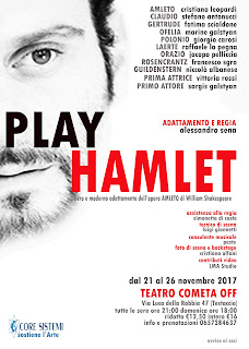 spettacolo teatrale Play Hamlet