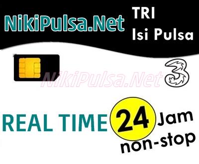 Update Harga Pulsa 3 Tri Termurah Server Niki Reload Pulsa Elektrik Online Termurah Jakarta Bandung Semarang Surabaya