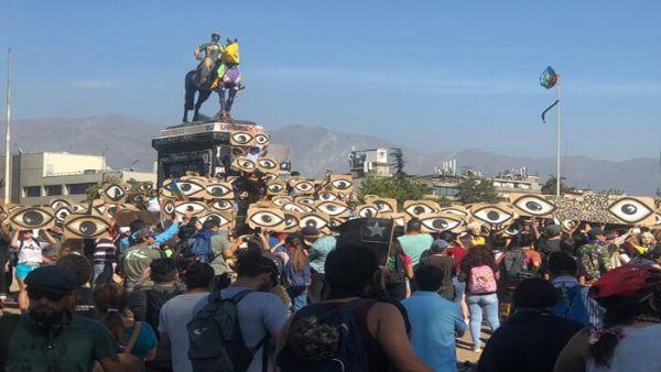 Marcha por los ojos de Chile: 352 personas perdieron la visión parcial o total por represión del Estado