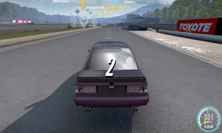 تحميل لعبة التفحيط Drift Zone برابط مباشر