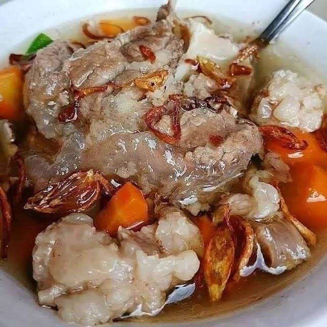 SOP Buntut dan Tetelan Sapi - Resep Olahan Daging Sapi