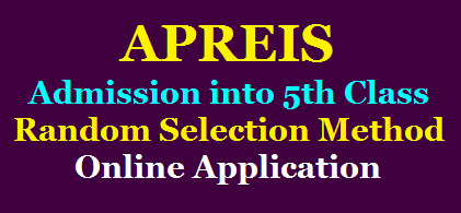 APREIS Notification for Admission into Vth Class Online Application Form @aprjdc.apcfss.in /2020/07/APREIS-Notification-for-Admission-into-Vth-Class-Random-Selection-Method-Online-Application-Form-aprjdc.apcfss.in.html