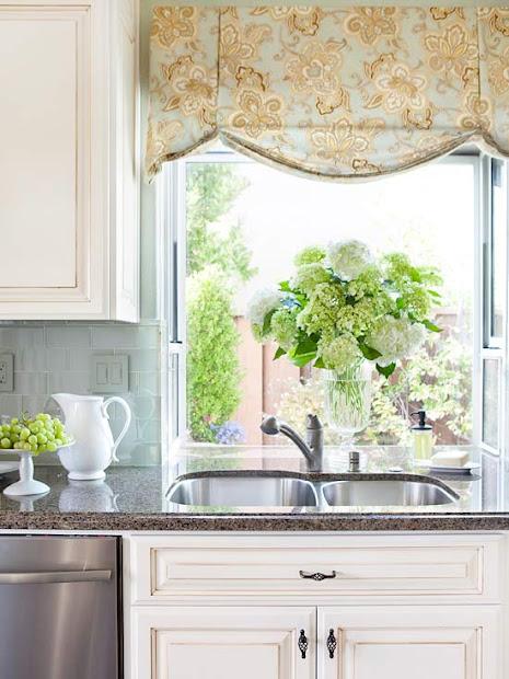 modern furniture 2014 kitchen window treatments