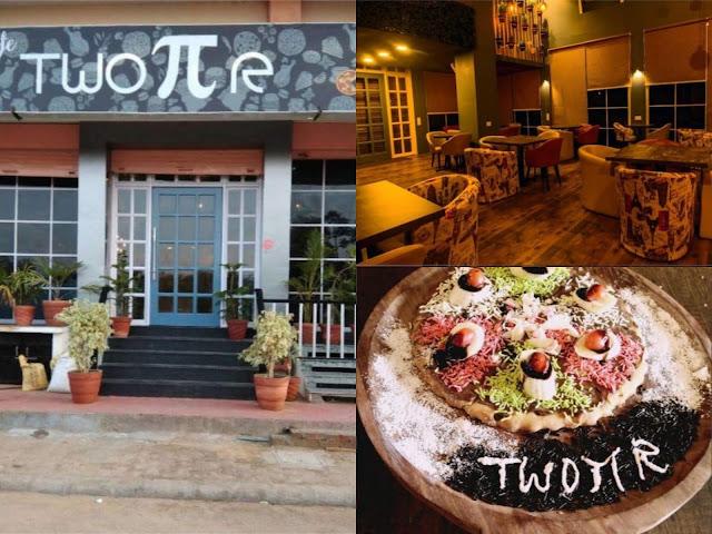 Cafes near me | Cafe Two Pi R, Jaipur