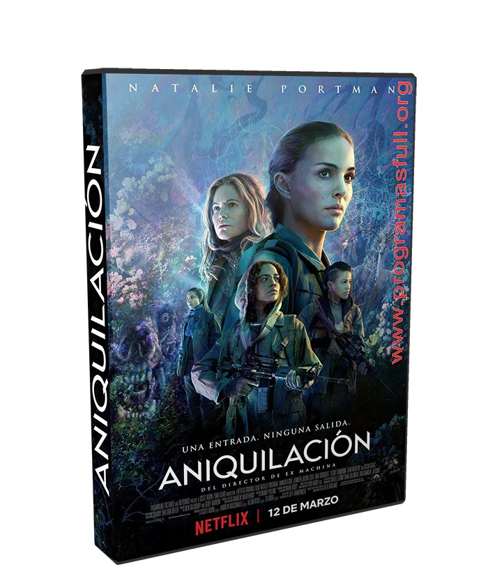 aniquilación HD 720p poster box cover
