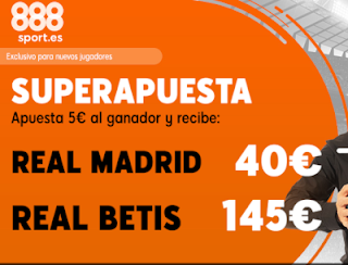888sport superapuesta liga Real Madrid vs Betis 19 mayo 2019
